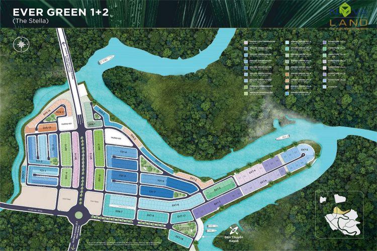 Phân khu The Stella trong dự án đô thị Aqua City