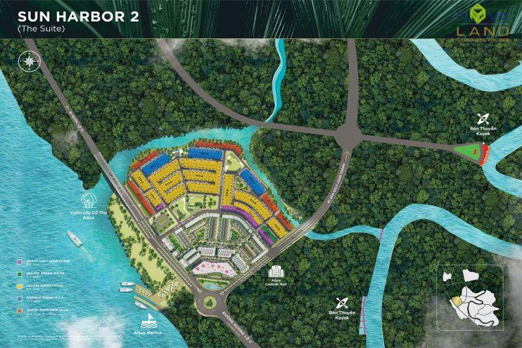 Phân khu The Suite trong dự án đô thị Aqua City