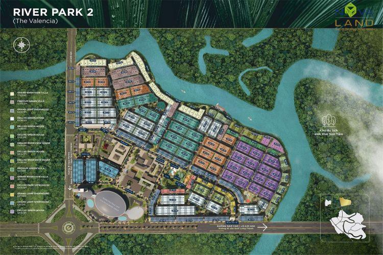 Phân khu The Valencia trong dự án đô thị Aqua City
