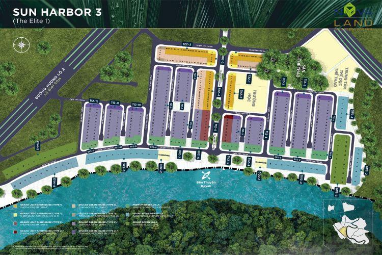 Phân khu The Eltie 1 trong dự án đô thị Aqua City