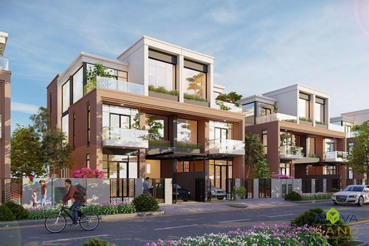 Biệt thự song lập dự án Aqua City Đồng Nai