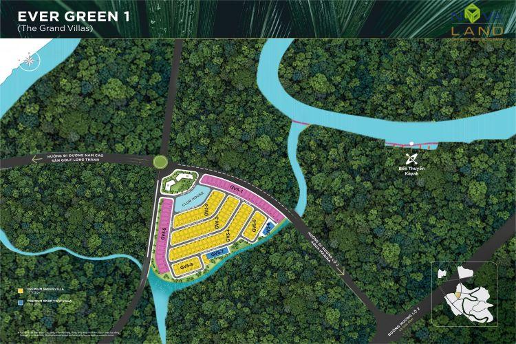 Phân khu TheGrand Villas trong dự án đô thị Aqua City