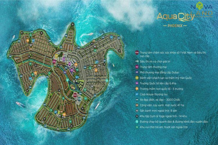 Đảo Phượng Hoàng Aqua City Đồng Nai