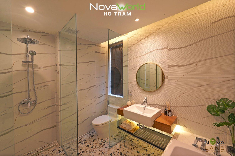 Thiết kế phòng tắm tại NovaWorld Hồ Tràm