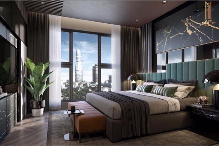 Thiết kế phòng ngủ dự án chung cư The Grand Manhattan