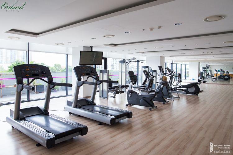 Phòng Gym nội khu dự ánOrchard Parkview