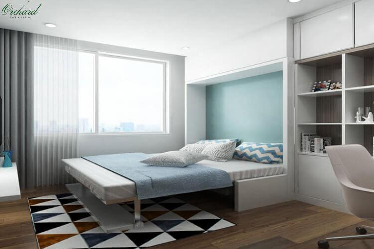 Thiết kế phòng ngủ căn hộOrchard Parkview
