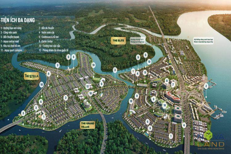 Tổng quan tiện ích dự án Aqua City Đồng Nai
