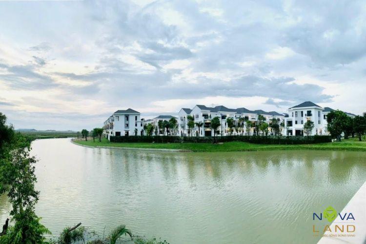 Một góc tiến độ dự án Aqua City Đồng Nai