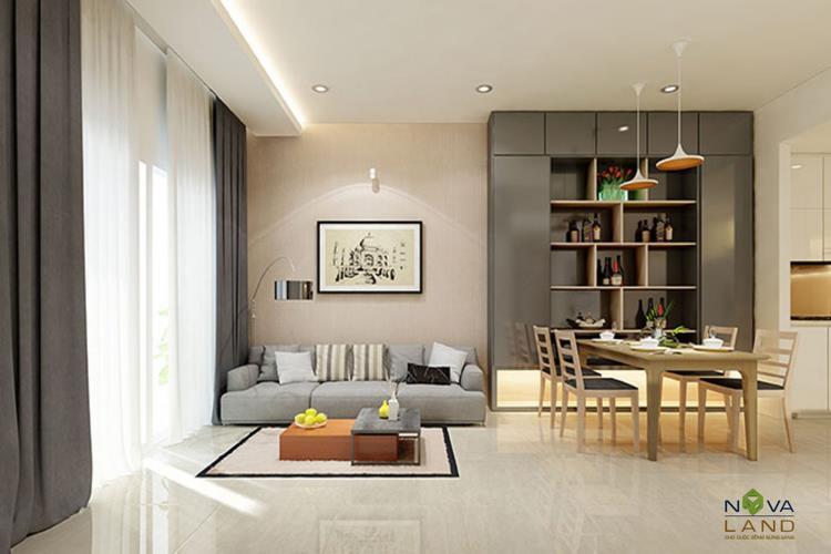 Thiết kế phòng khách căn hộ The Sun Avenue